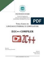 D2Cpp Compiler - Donato Barone, Marco Suma