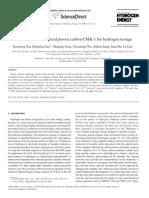 3-CO2 Activation of Ordered Porous Carbon CMK-1 for Hydrogen Storage