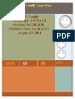 Family Care Plan by Sharma,Avinash Modified