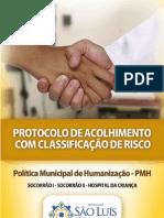 Protocolo Acolhimento Classificacao Risco