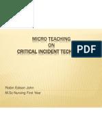 Critical Incident Technique