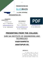 ABSTRACT Bluebrain