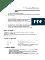 Aneez Resume Manual Testing