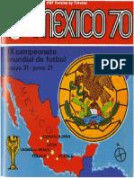 Album Cromos Panini - Mundial Futbol 1970