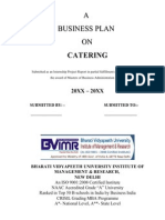 Business Plan - Catering)