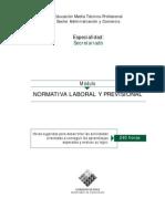 Normativa Laboral y Previsional