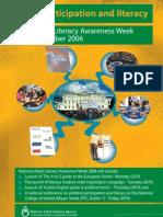 Political participation campaign poster 2006