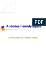 Anémies-hémolytiques