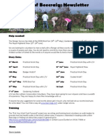 FOB Newsletter Issue 1