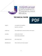 Two International Finance Centre Technical Paper