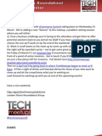 London Silicon Roundabout Weekly Newsletter 16-Mar-2012