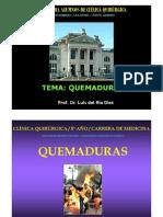 Clase de Quemaduras Para Alumnos de Clinica Quirurgica 2012