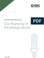 Energy Financing Report