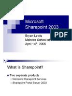 Bryan-Sharepoint