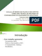 Apresentação - FMEA