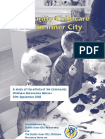 Report on the impact of community childcare funding programme 2008
