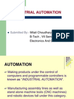 Industrial Automation Ppt.