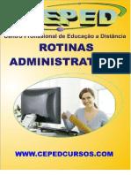 (c) ROTINAS ADMINISTRATIVAS