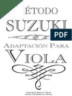 Metodo Suzuki Viola Nivel 1