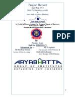 Harpreet Singh project report on NPA