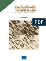 Anon - La Situacion Social en La Union Europea 2003