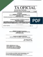 COPANIT 43-2001-sustancias quimicas