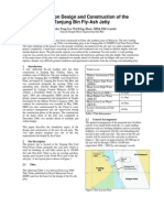 Foundation Design and Construction of the Tanjung Bin Fly-Ash Jetty