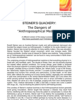 The Dangers Of