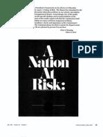 Denning - Nation at Risk