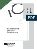 Guia 1 Derecho Laboral y Previsional en La Constitucion
