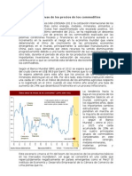 Perspectivas de Los Commodities