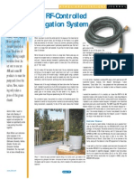An RF Controlled Irrigation System