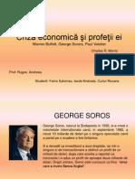 Criza Economică şi profeţii ei