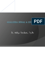 Anestesi Spinal+Epidural