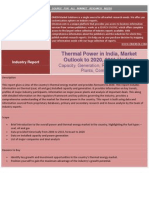 Thermal Power in India Market Outlook to 2020, 2011 Update