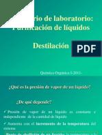 clase destilación2011
