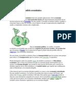 Definición de modelo económico