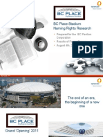 BC Place renaming report