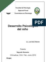 Desarrollo Psicologico del niño,, 2do semestre