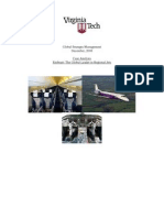 Case Analysis Embraer