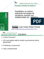 Guadalinex Con Colinux y Tecnologia Nomachine Nx