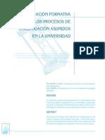 1990 La investigación formativa en los procesos de investigación asumidos en la universidad