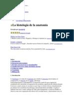 Histología y Anatomía I