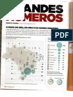 Infográfico - O Mapa do nosso dinheiro