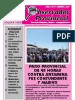 Observador Provincial - Febrero 2012