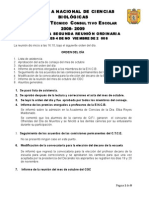 2da Acta Ordinaria 2008-2009
