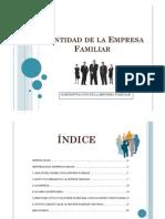 Identidad de La Empresa Familiar Apuntes