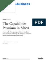 Sb66 12105 the Capabilities Premium in MA