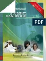 Student Handbook 2011 2012
