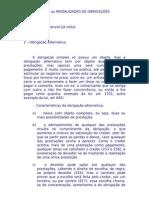 CLASSIFICAÇÃO ou MODALIDADES DE OBRIGAÇÕES a6